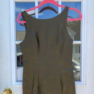 Boutique Olive Pencil Dress